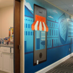 Bizness Apps Silicon Valley Office Mural Art