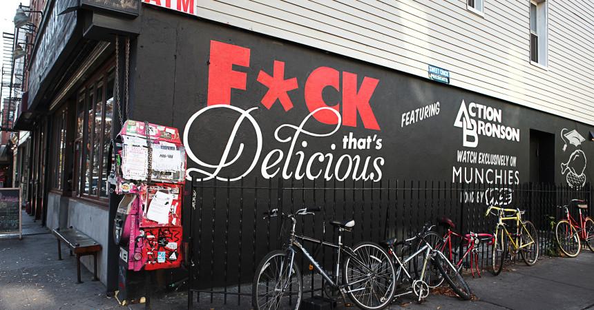 Vice Graffiti Mural