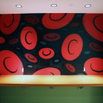Blood Cell Murals at Eisai Office in NJ