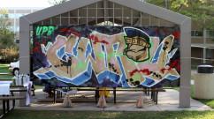 Case Western Reserve University Graffiti Mural