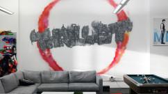 Thrillist Street Art Logo in New York City Office