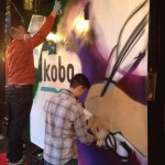 Kobo Live Graffiti Event