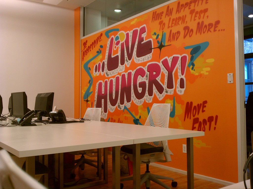 facebook office in usa. Living Social Office Graffiti Facebook In Usa E