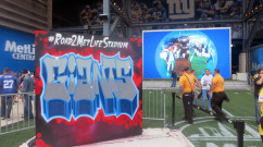 Metlife Stadium Graffiti