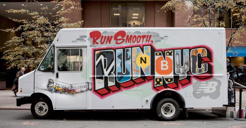 Run Smooth Run NYC Live Graffiti Art in NY