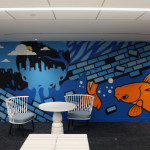 Pop Art Corporate Office Mural