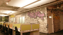 NY Office - Taboola Graffiti Art Design