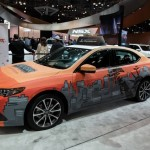 Skyline Artwork on TLX for Acura Convention