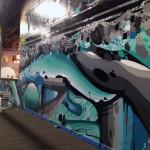 Chicago Graffiti Artist Creates Artwork for Business
