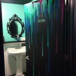 Dripping Rest Room Graffiti Design in Chicago, IL