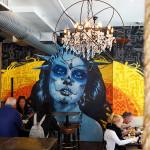 High End Restaurant Street Art Mural PortraitGraffiti Mural Art & Street Artists for Hire