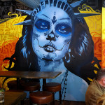 New York Restaurant Mural Art Mexican Food