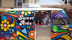 Sweet Ride Dessert Truck Street Art in NJ - PA