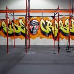 O-Side Crossfit Gym Graffiti Art