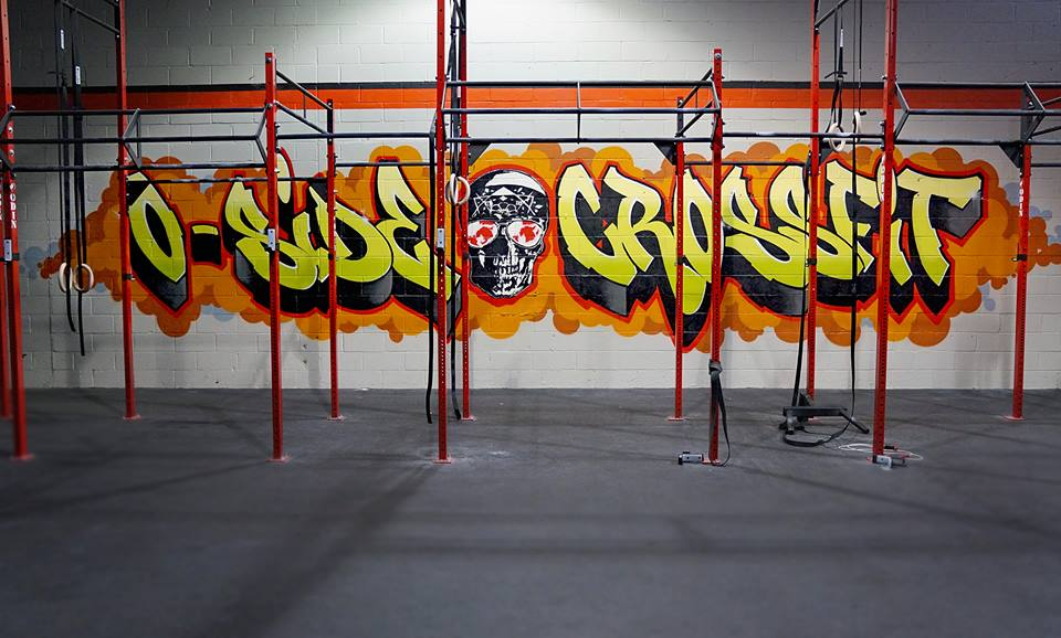 O Side Crossfit Gym Graffiti Art