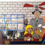 Inspector Gadget Cartoon Mural in Minneapolis MN