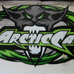 Arctic Cat Graffiti Wall Art in Minneapolis MN
