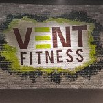 Vent Fitness Street Art Logo Design