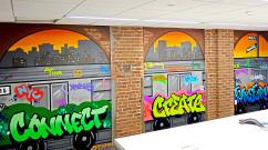 New York City Subway Graffiti in Yonkers, NY