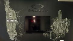 Corporate Office Chalk Art for Oakley