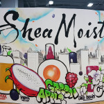 Completed Shea Moisture Mural for BeautyCon
