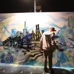 California graffiti artist does live art
