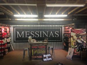 Messinas Trade Show Logo Scenic