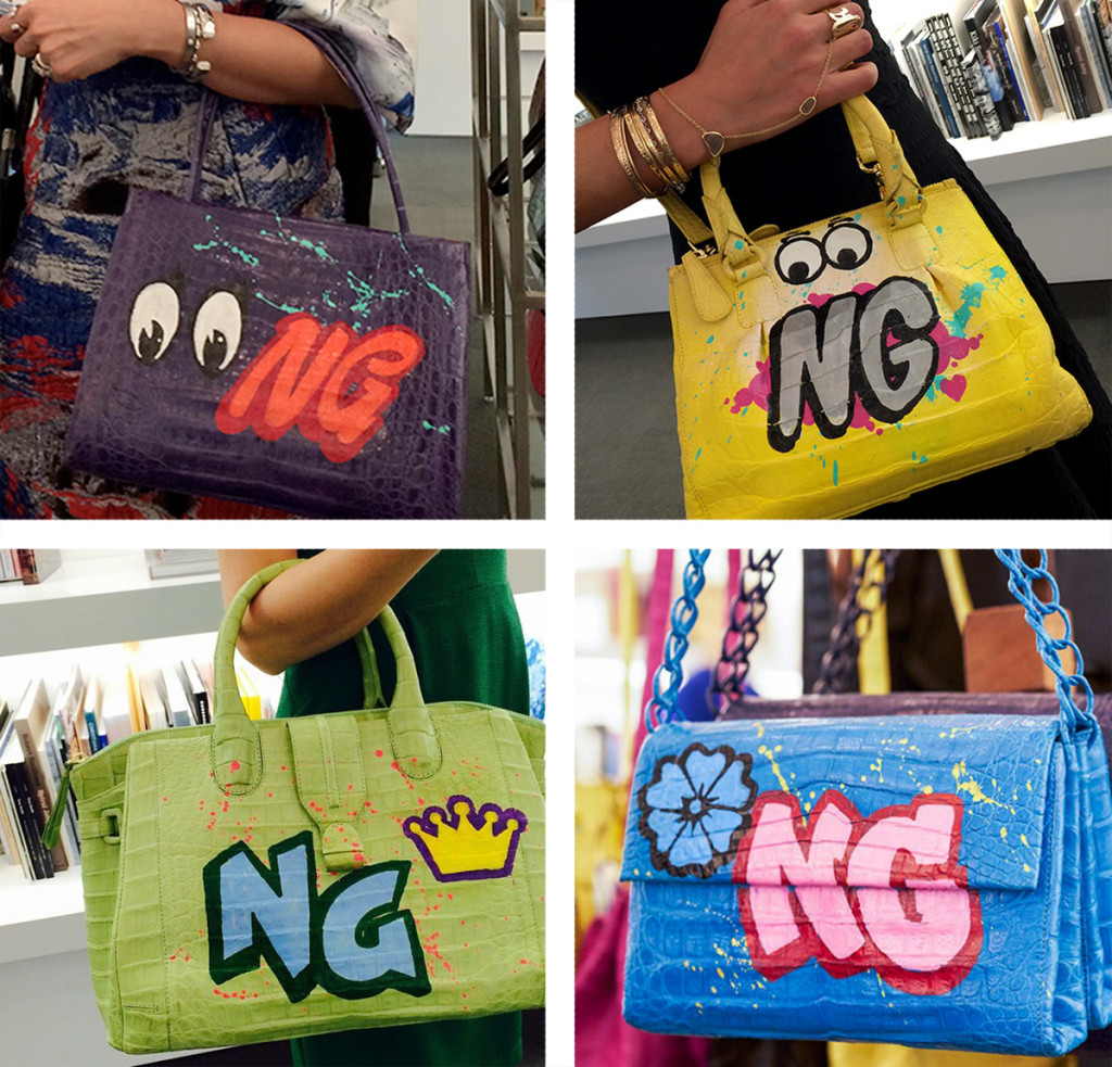 Luxury Bag Graffiti Art