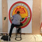 Live Sign Painting for Redhook Brewery