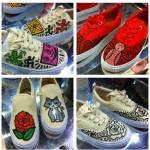 Keith Haring Banksy Art on Sneakers - Customization