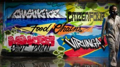 Food Chains, Miners Shot Down & Virunga Graffiti Murals