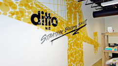Williamsburg PR Mural for Ditto