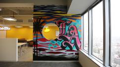 Tabool Office Graffiti in DTLA
