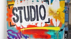 Atlas Agency Office Banksy Style Street Art