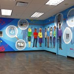 Vector Mural in Combe Office in NY