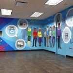 Vector Mural in Combe Office in NY