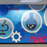Interior Street Art Installation for Combe HQ