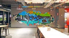 Albany Vector Imagery Mural
