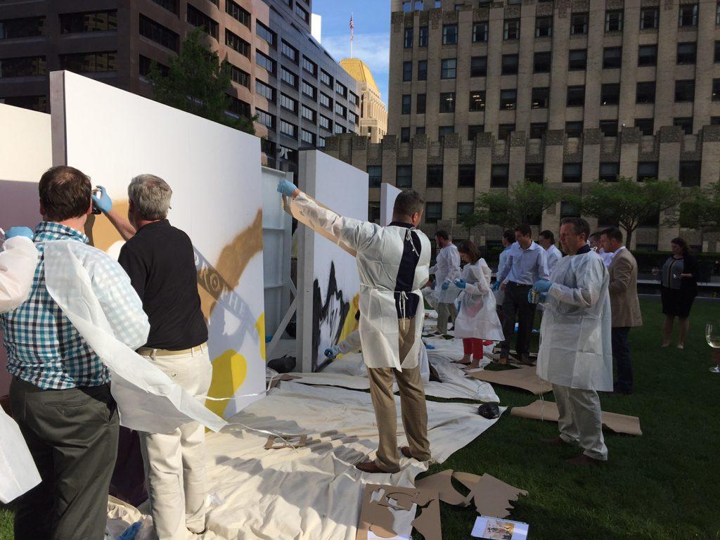 Rooftop Graffiti Art Competition in Boston, MA