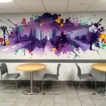 Hotel Mural for Hyatt Regency
