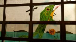 Frog & Tadpole Classic Painting Reproduction
