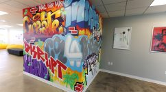 Sandbox Agency Office Mural