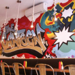 Graffiti Design for Canteen Restaurant