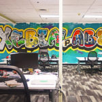 Postcard Mural for Xebia Labs