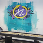 Xebia Labs Street Art in Corporate Office