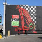 ATCQ Mural by Self Uno in LA