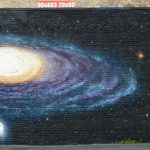 Space Mural & Galaxy by Ben Janik