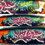 Alabama Graffiti Artist for Boost Mobile Project