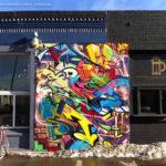 Jolt Graffiti Letters Collage - Colorado