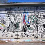 Black & White Mural in Denver, CO